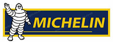 "MITCHELIN TYRES DIGITALLY CUT OUT VINYL STICKER. 6"" X 2"" OVERALL SIZE  CODE 4"