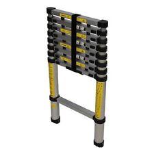 ÉCHELLE TÉLESCOPIQUE avec pied anti-dérapants structure alu  2,6m / 9 échelons