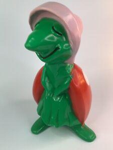 """unusual 14-1/2"""" Vintage Plastic LADYBUG Figure"""