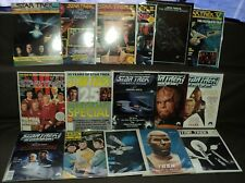 Star Trek MAGAZINE SET/LOT 17 Issues! Official Fanclub, Special, more! (m 503)