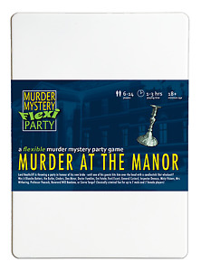 Murder at the Manor - Murder Mystery Flexi Dinner Party for 6-14 Players
