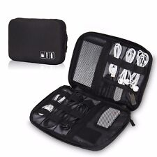 Hynes Eagle Travel Universal Cable Organizer Electronics Accessories Cases Black