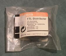 Canon EOS TTL Cable Distributer  New Old Stock C50-1651