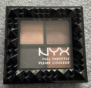 NYX Full Throttle Eyeshadow Quad - 05 Tahe Over Control