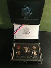 1998 U.S. Mint Premier Silver Proof Set IN BOX WITH COA in DESK TOP DISPLAY