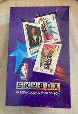 1991-92 Skybox NBA 36 wax pack factory sealed box - Michael Jordan