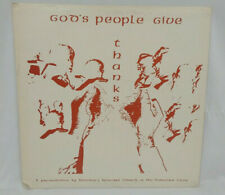 Houston Episcopal Church Of The Redeemer Choir Vinyl LP Gods People Give Thanks