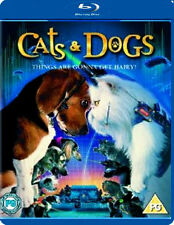 CATS AND DOGS - BLU-RAY - REGION B UK