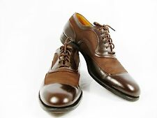 VTG E. T. WRIGHT Arch Preserver Men's Shoes Brown Leather Size 11.5 A+