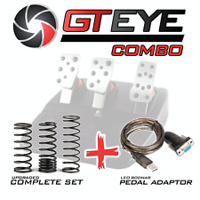 GTEYE Springs & Leo Bodnar Cable COMBO for Logitech G25 G27 G29 G920 G923
