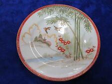 Satsuma / Kutani Vintage  Hand  Painted  Medium size Plate