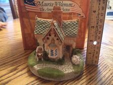 Maurice Wideman American Collection Sweetheart Cottage Ac-039 John Hines Signed