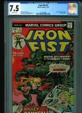Iron Fist #2 CGC 7.5 (1975) Origin Chris Claremont John Byrne