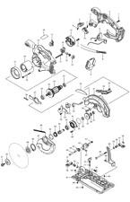 NEU Original Makita BSS610 Circular Saw Repair Spare Parts Replacement