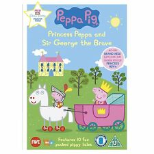 Peppa Pig Princess Peppa and Sir George The Brave New DVD R2