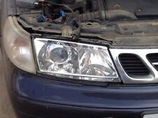 Saab 9-5 Clear Polycarbonate Covers Headlight for retrofit. Pair 4mm