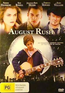 130🆕sealed-August Rush - DVD - Region 4 Rare