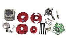 HMParts Tuning Zylinder 49ccm 44mm 31 Teile Big Bore 6 Pocket Bike Dirt Bike ATV