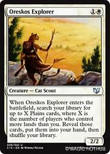 ORESKOS EXPLORER Commander 2015 MTG White Creature — Cat Scout Unc
