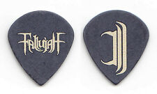 Fallujah Scott Carstairs Signature Black Teardrop Guitar Pick - 2017 Tour