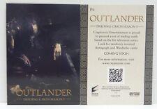 Wondercon 2018 Cryptozoic P1 Outlander Jamie Fraser  Season 3 promo card