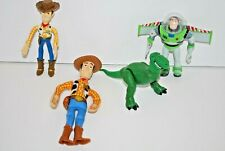 Lot of Toys Toy Story Woody Buzz Lightyear Assorted Sizes Figures