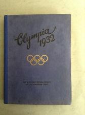 X. Olympische Spiele Los Angeles1932 1 Alben mit Ziegarettenbildern.(B)