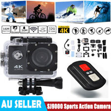 Full SJ9000 HD 1080P Wifi Waterproof Ultra Sport Action Camera Camcorder 4K DVR