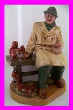 Royal Doulton Figurine THE LUNCHTIME England HN2485  with DOULTON Signature 1977