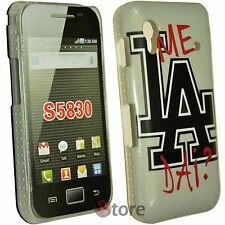 Cover Custodia Per Samsung Galaxy Ace S5830 Me La dai? + Pellicola Salva Display