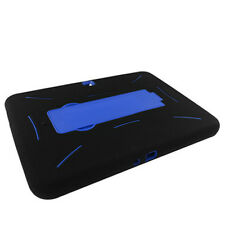 Samsung Galaxy Tab 3 10.1 IMPACT Hard Rubber Case Phone Cover with Kick Stand