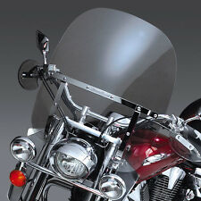 Honda VTX1300 S & R/Retro - 2up switchblade windshield & chrome installation kit