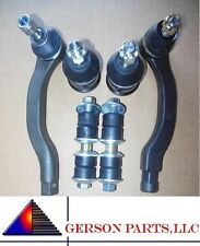Inner Outer Tie Rod End Lower Ball joint & Stabalizer Sway Bar Link High Quality