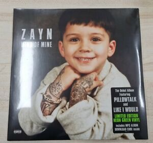 Zayn Mind Of Mine One Direction 1st Press Neon Green Deluxe 2 Vinyl LP Records