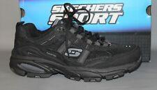 NEW Men's Skechers Sport #51208/BBK Black Athletic Shoes