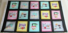 "1 Cute ""Born to Sew"" Cotton Crafting Sewing Quilting Fabric Panel"