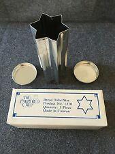 Pampered Chef Star Shaped Bread Tube New