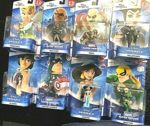 Disney Infinity Maleficent, Donald Duck, Jasmine, Aladdin, Captain America, Iron