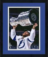 "Frmd Brayden Point Lightning 2020 SC Champs Signed 16"" x 20"" Cup Photo"