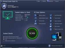 Advanced system repair Pro Full Version License key For Lifetime