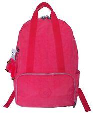 NWT Kipling Pippin Backpack Bag School Travel Shoulder Light Weight Purse Pink