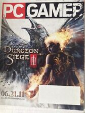 Pc Gamer Magazine Dungeon Siege III Mass Effect 3 July 2011 082217nonrh