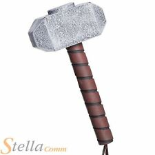 Adult Official Thor Hammer Mjolnir Superhero Fancy Dress Costume Accessory