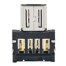Mini USB 2.0 OTG Micro USB Convertidor Adaptador de Teléfono Móvil