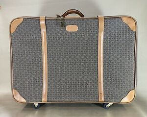 """Hartmann WINGS & Belting Leather Trim 29"""" Soft Pullman Suitcase Trunk Luggage"""