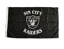 Las Vegas Raiders 'Sin City' 3 x 5 feet Flag