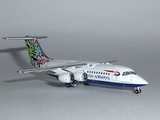 Avro RJ-100 British Airways Botswana Jet-X Metal Model 1:400 JET004 G-BXAS G