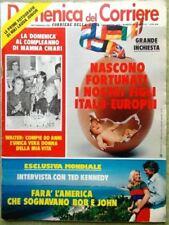 La Domenica del Corriere 7 Novembre 1979 Cascella Europa Parenzan Minoprio Scià