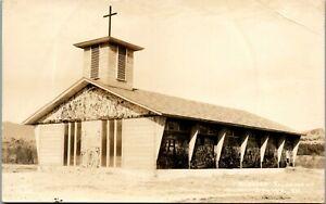 Blessed Sacrament Stowe VT RPPC Vintage Postcard GG1-389