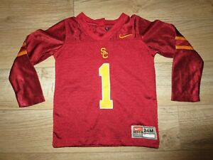 USC Trojans Southern Cal #1 Football Nike Jersey Baby Toddler 24M